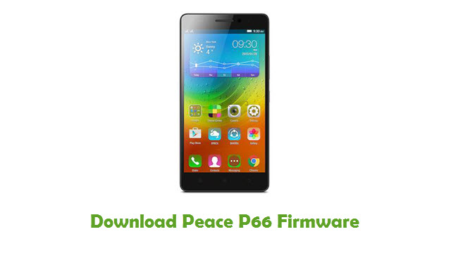 Peace P66 Stock ROM