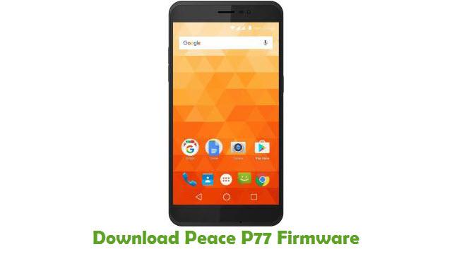 Peace P77 Stock ROM