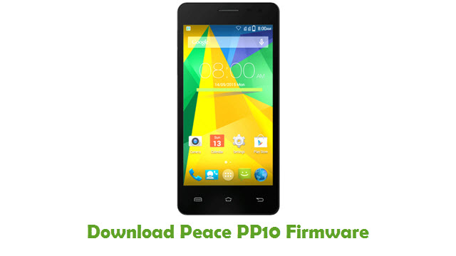 Download Peace PP10 Stock ROM