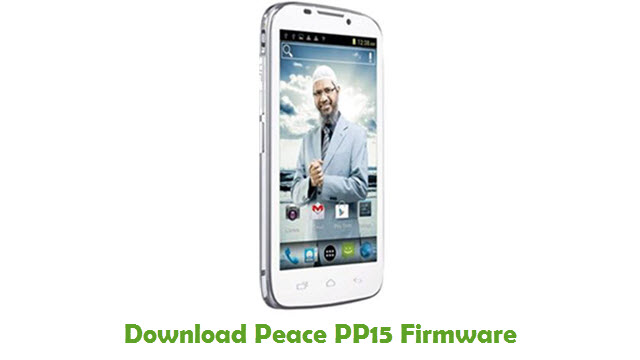 Peace PP15 Stock ROM