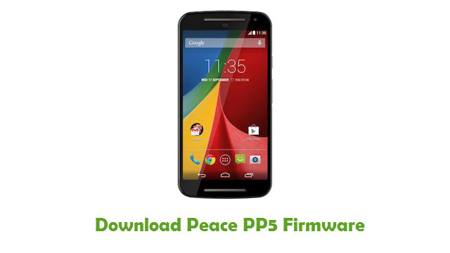 Peace PP5 Stock ROM