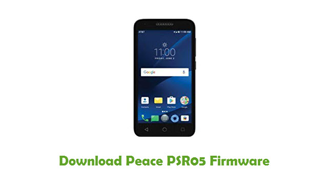 Peace PSR05 Stock ROM