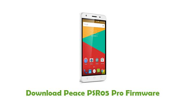 Download Peace PSR05 Pro Stock ROM