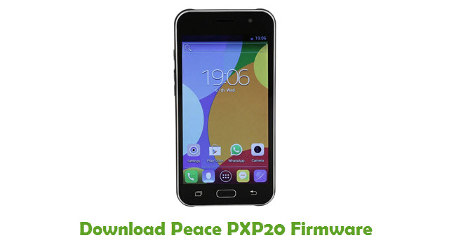 Peace PXP20 Stock ROM