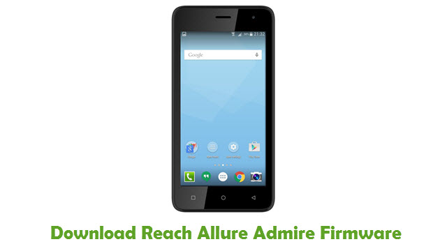 Download Reach Allure Admire Firmware