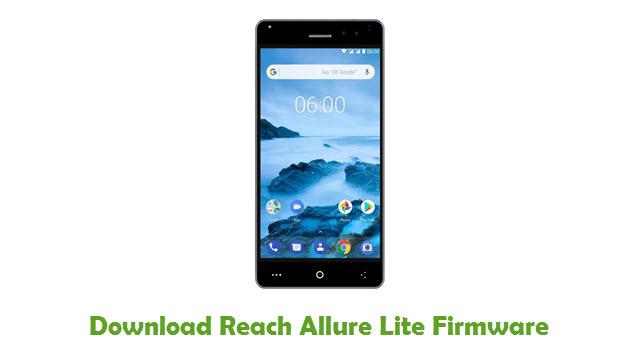 Reach Allure Lite Stock ROM
