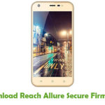 Reach Allure Secure Firmware
