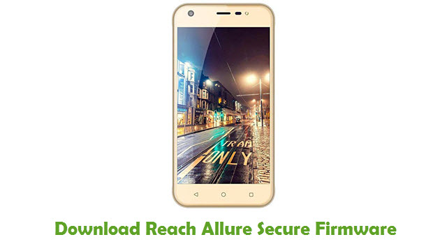 Reach Allure Secure Stock ROM