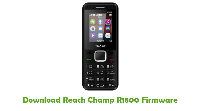 Reach Champ R1800 Stock ROM