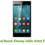 Reach Champ Selfie X506 Firmware
