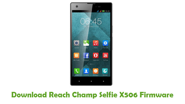 Reach Champ Selfie X506 Stock ROM