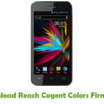 Reach Cogent Colors Firmware