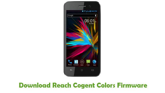 Download Reach Cogent Colors Firmware