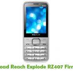 Reach Explode RZ407 Firmware