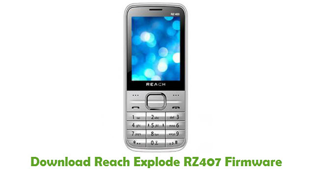 Download Reach Explode RZ407 Firmware