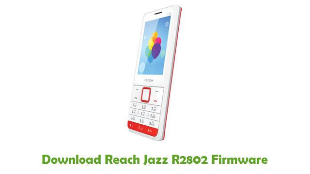 Download Reach Jazz R2802 Firmware