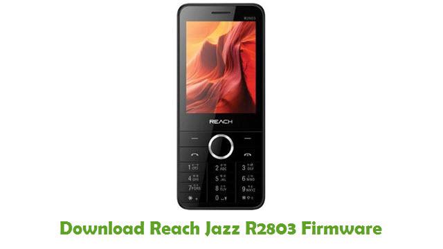 Download Reach Jazz R2803 Firmware