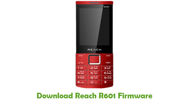 Download Reach R601 Firmware