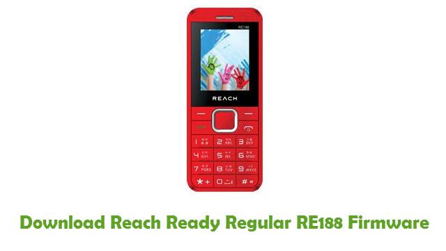 Reach Ready Regular RE188 Stock ROM