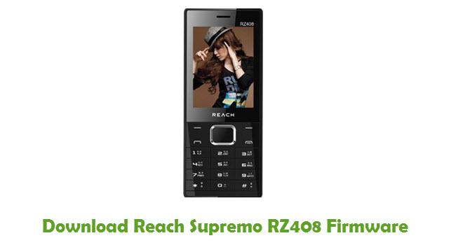 Download Reach Supremo RZ408 Stock ROM