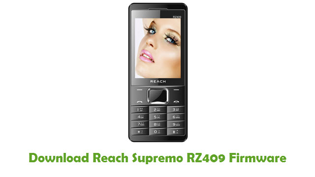 Download Reach Supremo RZ409 Firmware