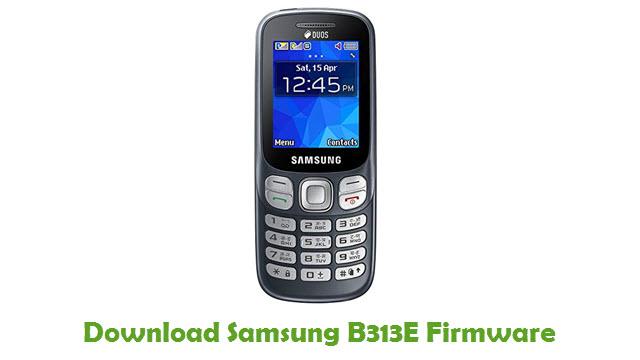 Download Samsung B313E Firmware