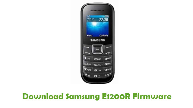 Download Samsung E1200R Stock ROM