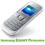 Samsung E1200Y Firmware