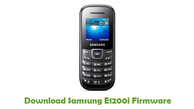 Samsung E1200i Stock ROM