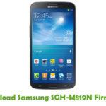 Samsung SGH-M819N Firmware