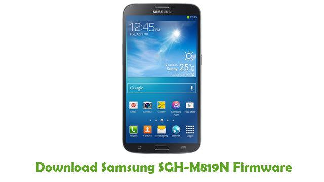 Download Samsung SGH-M819N Stock ROM