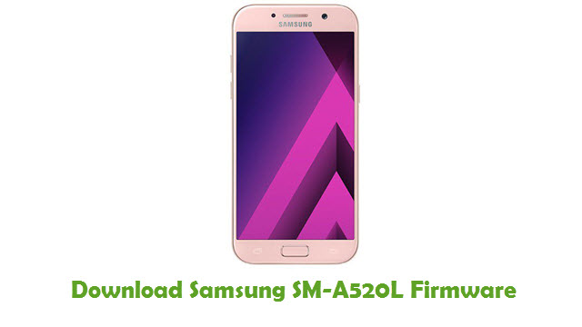 Download Samsung SM-A520L Stock ROM