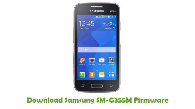 Download Samsung SM-G355M Stock ROM