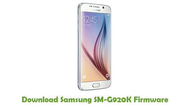 Download Samsung SM-G920K Stock ROM