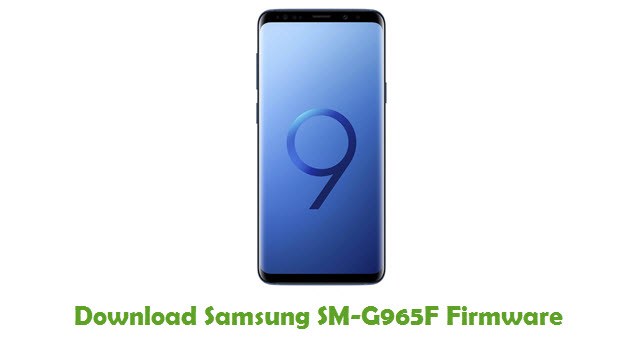 Download Samsung SM-G965F Stock ROM