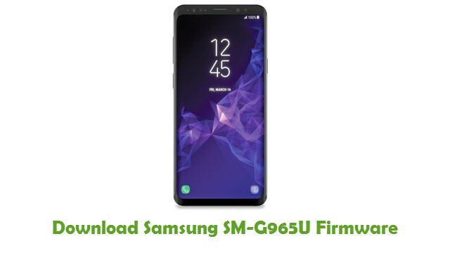 Download Samsung SM-G965U Stock ROM