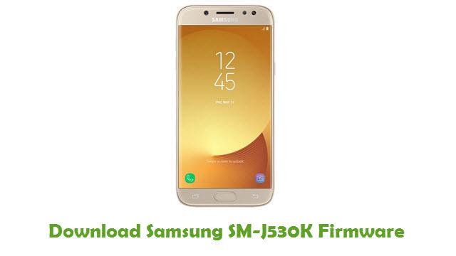 Download Samsung SM-J530K Stock ROM