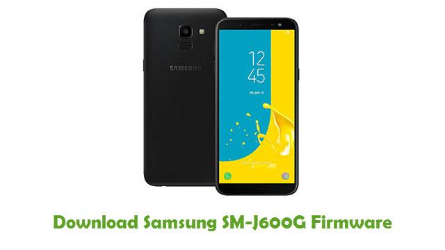 Download Samsung SM-J600G Stock ROM