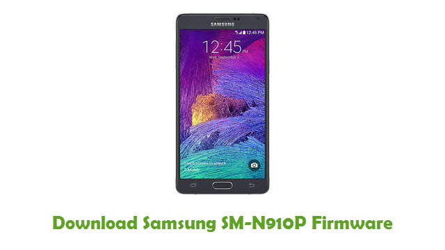 Download Samsung SM-N910P Stock ROM