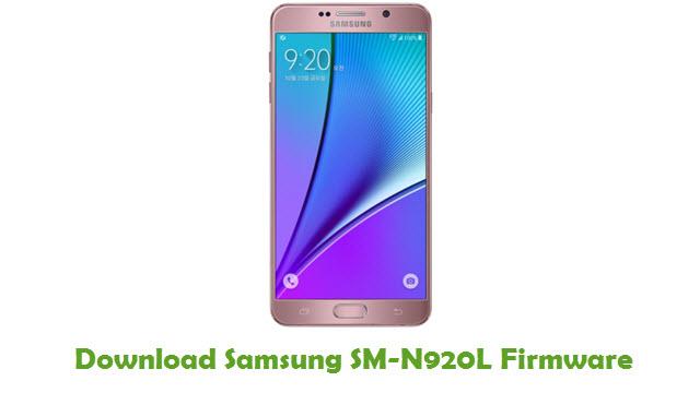 Download Samsung SM-N920L Stock ROM