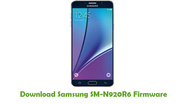 Download Samsung SM-N920R6 Stock ROM