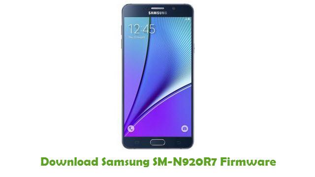 Download Samsung SM-N920R7 Firmware