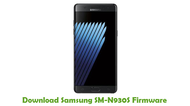 Download Samsung SM-N930S Stock ROM