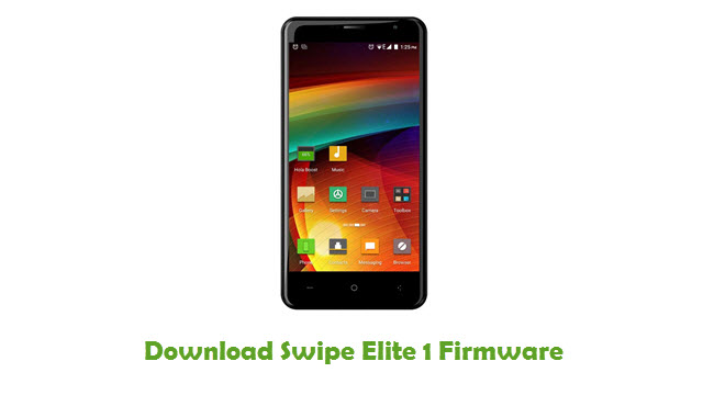 Download Swipe Elite 1 Firmware