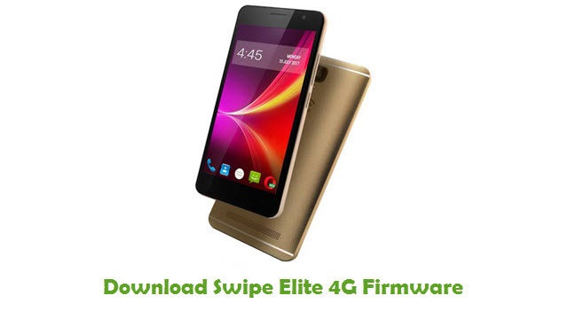 Swipe Elite 4G Stock ROM