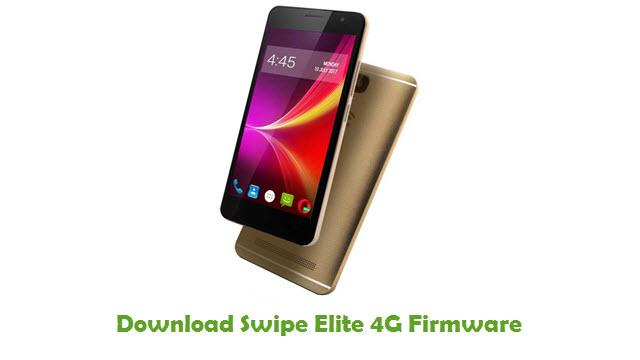 Download Swipe Elite 4G Stock ROM