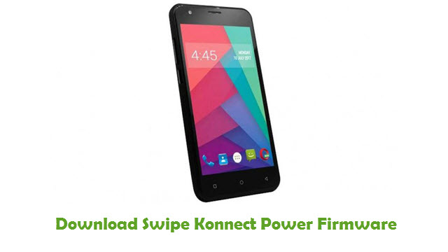 Swipe Konnect Power Stock ROM