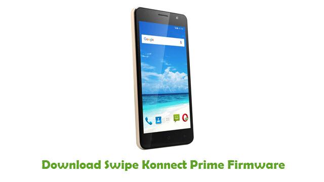 Swipe Konnect Prime Stock ROM