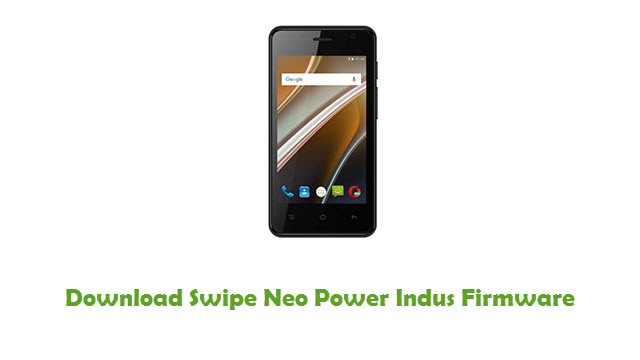 Download Swipe Neo Power Indus Stock ROM