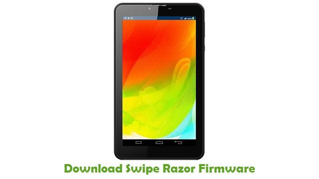 Download Swipe Razor Firmware